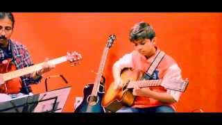 getlinkyoutube.com-En Iniya Pon Nilave -Illayaraja - Guitar Cover By Seyon - Super Leads Academy Of Music