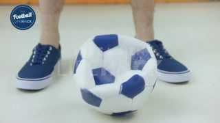 Reparar uma bola de futebol furada com um ovo #Desenrasca
