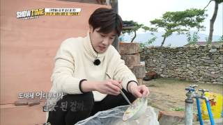 getlinkyoutube.com-(Showtime INFINITE EP.2) Sung kyu Penalty the dishes