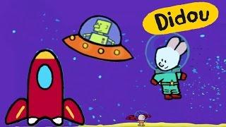 getlinkyoutube.com-Didou - Didou, dessine-moi une fusée, une soucoupe volante et un robot   Dessin animé pour enfant