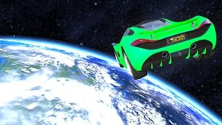 getlinkyoutube.com-SPACE TO EARTH IN GTA! (GTA 5 Funny Moments)
