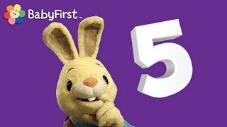 getlinkyoutube.com-Counting numbers 123 | Learn to count to five with Harry The Bunny | Babyfirst