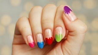 getlinkyoutube.com-Serduszkowe paznokcie na wypasie - [ Red Lipstick Monster ]