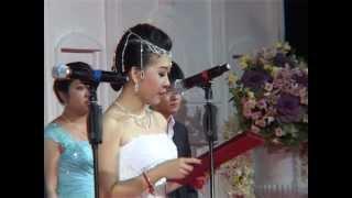 getlinkyoutube.com-Big Wedding in Cambodia ,Sam dach daed Jo HUn sen dance