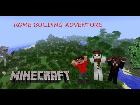 Minecraft Rome Building - ep 2 - MORE DIAMONDS!!!!! :D
