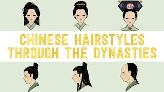 getlinkyoutube.com-Chinese Hairstyles Through the Dynasties