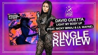 LIGHT MY BODY UP - DAVID GUETTA FT NICKI MINAJ & LIL WAYNE karaoke version ( no vocal ) lyric