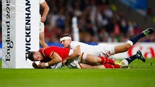 England v Wales - Match Video Highlights & Tries