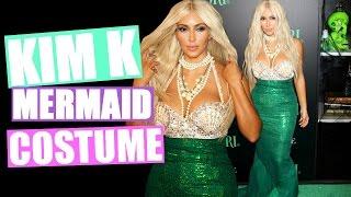 getlinkyoutube.com-Kim Kardashian Mermaid Halloween Costume!! | DIY Halloween Costume