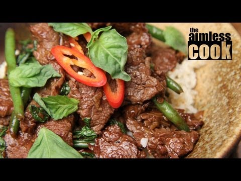 Thai Beef and Basil Stirfry