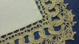 getlinkyoutube.com-Orilla # 9 Circulos en Crochet parte 1 de 2