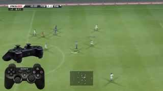 "getlinkyoutube.com-PES 2013 ""Strong shot"" and ""Low chip shot"" Tutorial HD (the best Guide)"