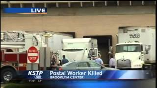 getlinkyoutube.com-Employee Killed by Postal Service Truck