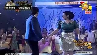 getlinkyoutube.com-Upeksha Swarnamali & Roshan Ranawana Dance In Hiru Christmas Party