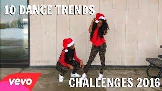 Top 10 Dance Trends/Challenges 2016 Twin Version #DanceChallenges