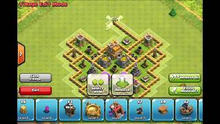 getlinkyoutube.com-Town Hall Level 7 Base Defence (Clash Of Clans)