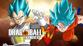 getlinkyoutube.com-Dragon Ball Xenoverse MODS | SSJGSSJ Vegeta VS SSJGSSJ Goku (Duels)
