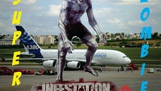getlinkyoutube.com-Infestation #2 - (Loot) Super Zombie Aeroporto!