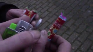 getlinkyoutube.com-Coloured Flowers W026A nitraat/cracker THAILAND vs BELGIE vuurwerk/fireworks