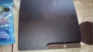 getlinkyoutube.com-WATCH THIS BEFORE YOU ATTEMPT TO CLEAN PlayStation 3 SLIM Blu-ray LENS FAN  fix PS3 DISK READ ERROR