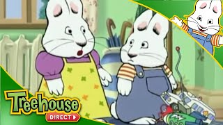 getlinkyoutube.com-Max & Ruby: Max Misses the Bus / Max's Worm Cake / Max's Rainy Day - Ep.3