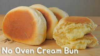 getlinkyoutube.com-No Oven)프라이팬 슈크림빵 クリームパンレシピHow to make Cream Bun [스윗더미 . Sweet The MI]