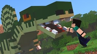 getlinkyoutube.com-Minecraft - DINOCRAFT! #16 SPINOSSAURUS GIGANTE!