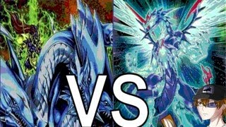 getlinkyoutube.com-Yugioh Galaxy Photons vs Dragon Master Knight : Kaiba & Yugi's Strongest Fusion Monster!