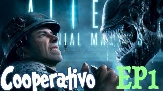 getlinkyoutube.com-Coop. ALIENS: COLONIAL MARINES con Sara y Willy - Ep.1