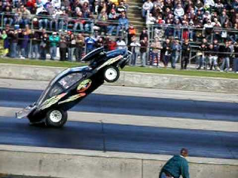Sunfire Wheelie & Crash At A Wheelie Contest