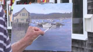 getlinkyoutube.com-John Cosby: Painting Plein Air Impressionism Demo Preview