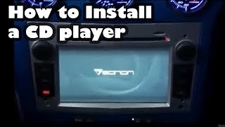 getlinkyoutube.com-Install a Eonon CD/DVD Player