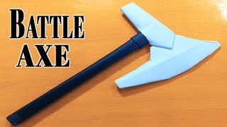 getlinkyoutube.com-How to Make A Paper Tomahawk  Battle Axe