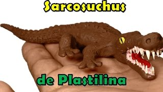 getlinkyoutube.com-Como hacer un Sarcosuchus de plastilina / How to make a sarcosuchus with  plasticine
