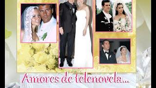 getlinkyoutube.com-ACTORES DE TELENOVELAS que se enamoraron en la Vida Real -