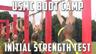 getlinkyoutube.com-Initial Strength Test - Marine Corps Boot Camp