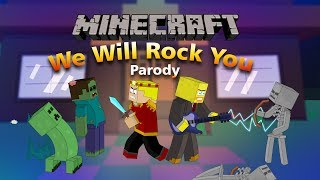 """getlinkyoutube.com-""""We Will Find You"""" Minecraft Parody Of We Will Rock You By Queen! (Music Video)"""