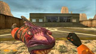 getlinkyoutube.com-Black Mesa and Half-Life comparasion & feedback: weapons (part 2)