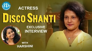 Actress Disco Shanti Exclusive Interview || Talking Movies With iDream #303