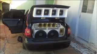 "getlinkyoutube.com-Eros Target Bass 15"" 1500 Watts RMS - Polo Sedan - PremierShop.com.br"