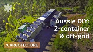 getlinkyoutube.com-Aussie couple builds off-grid mobile home with 2 containers