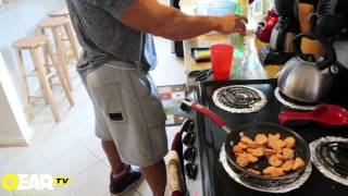 getlinkyoutube.com-Bodybuilder Aaron Clark Bodybuilding Meal - Bodybuilding Food