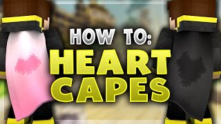 How To: OPTIFINE HEART CAPE! - Optifine Cape Designs