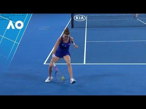 Aga Radwanska`s spectacular tweener (1R) | Australian Open 2017