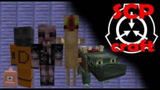 Minecraft - SCP Craft (1.4.6 ) - Mod Review (Portuguese/Brazil)