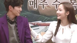 getlinkyoutube.com-[Production Press Conference] Yoo Seung Ho & Park Min Young, talk about playing a couple @Remember