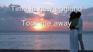 Barry Manilow - Weekend In New England (Lyrics)