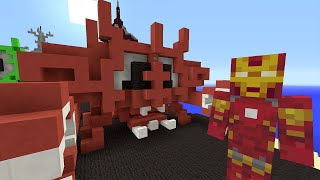 getlinkyoutube.com-Minecraft Xbox - Survival Madness Adventures - Avengers Giant Mutant Crabs [314]