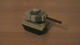 getlinkyoutube.com-Мини-танк из LEGO