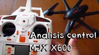 getlinkyoutube.com-ANALISIS CONTROL DRONE MJX X600 EN ESPAÑOL: Hexacopter barato calidad precio